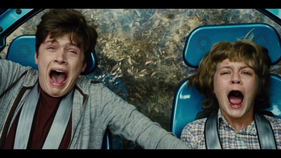 If I had actually paid to get into see 'Jurassic World,' I'm sure my reaction would have been much like this.