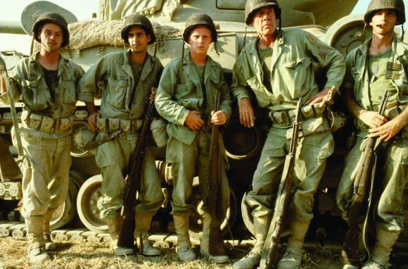Luke Skywalker, Lewis from 'Revenge of the Nerds' and American badass Lee Marvin kick the Germans of out of Northern Africa and follow them the whole way back to their homeland in 'The Big Red One.'